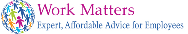 Work matters - Expert, Affordable, Advice for Employees Logo