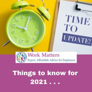 Things to know for 2021 workmattersireland.ie
